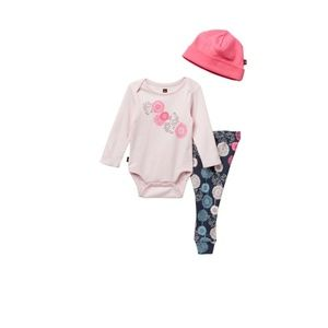 Tea Collection Puff Baby Outfit - 3-Piece Set NWT